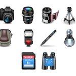 icones photo