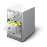 File Cabinet Card / Free Business Desktop Icons / 128px