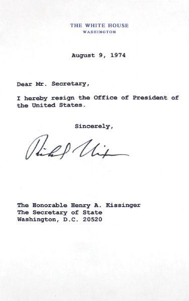 Nixon Resignation Letter Letter From Elvis Presley To President
