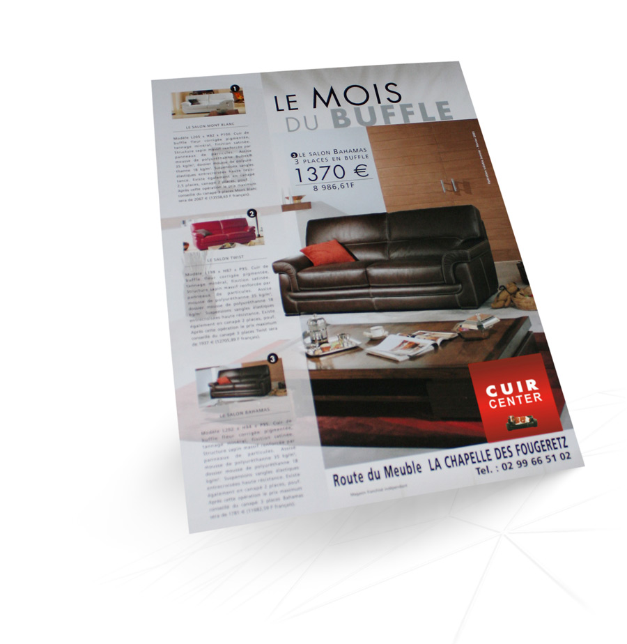 Catalogue Cuir Center Cuir Center Parution Tv Magazine Iconicité