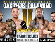 WSOF 23 Fight Card Complete