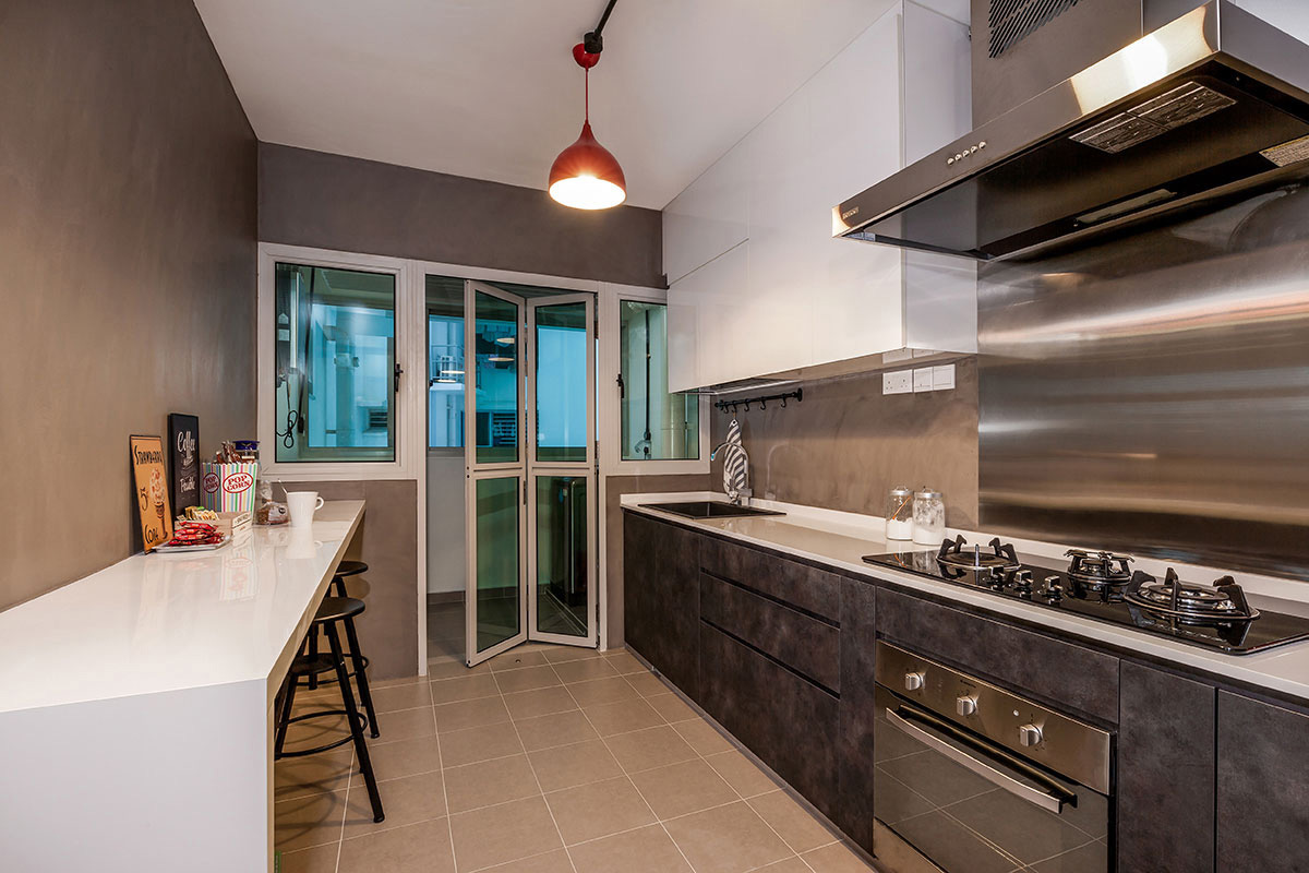 Hdb Kitchen Design Photos Punggol Drive Woodcress Block 667a Icon Interior