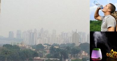 Cuidado com a baixa umidade do ar!