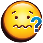 Nervous Face Emoji Icons