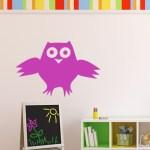 Cartoon Owl Wall Decal