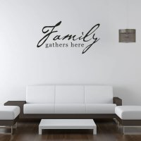 Family Quotes Wall Decals. QuotesGram