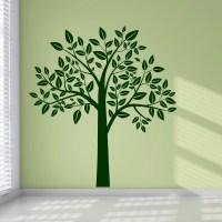 tree wall sticker 2017 - Grasscloth Wallpaper