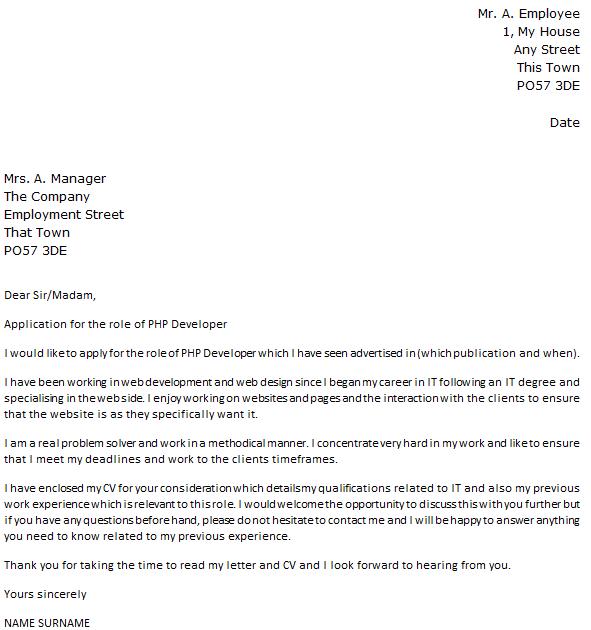 Oracle Developer Cover Letter Sample LiveCareer Resume Format For - Web services developer cover letter