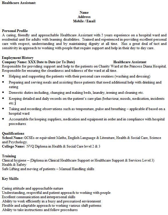 social work cv template