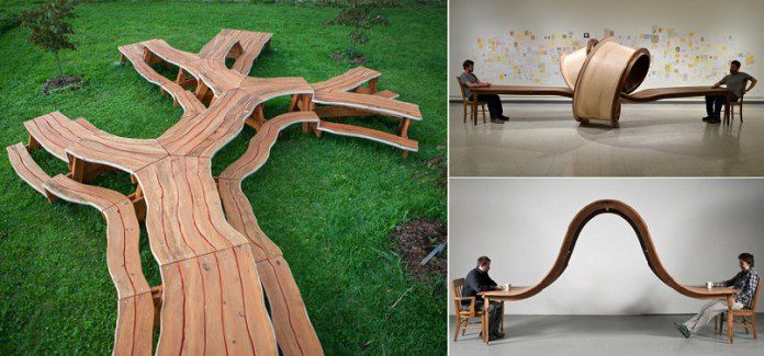 Unique Wooden Tables By Michael Beitz Icreatived