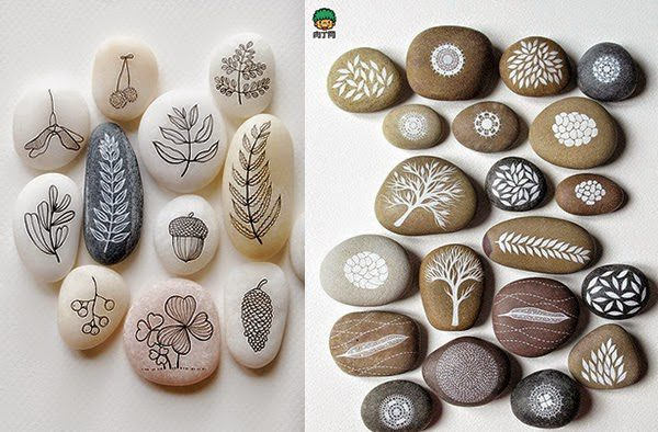 Como Decorar Piedras Diy Owl Stone Painting | Icreatived
