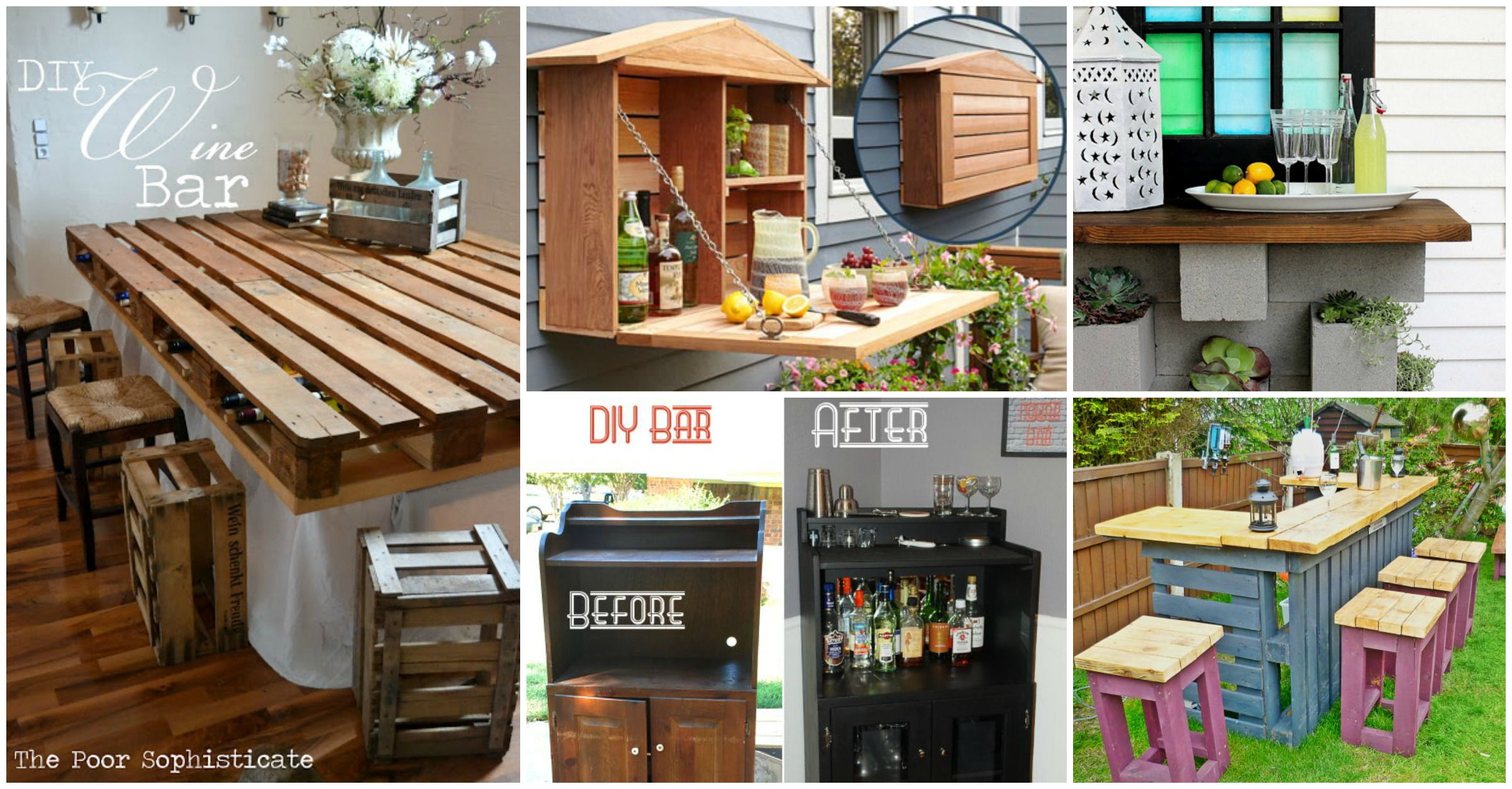 Home En Garden 30 43 Creative Diy Wine Bars For Your Home And Garden