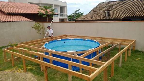 Piscinas Prefabricadas Elevadas Creative Ideas - Diy Above Ground Swimming Pool With