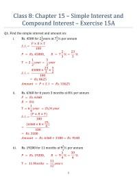 worksheet. Compound Interest Worksheets. Grass Fedjp ...
