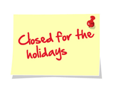 I-Ride \u2013 Public Transportation Services of the Isabella County - holiday signs for closing office
