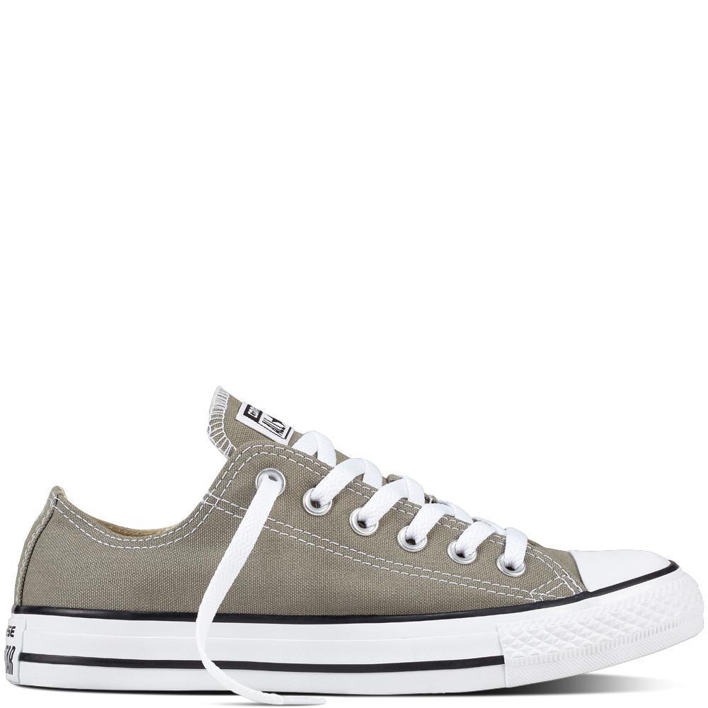 Converse Chuck Taylor All Star Classic Colour Low Top Sepatu Sneakers - abu  abu b394a64f94