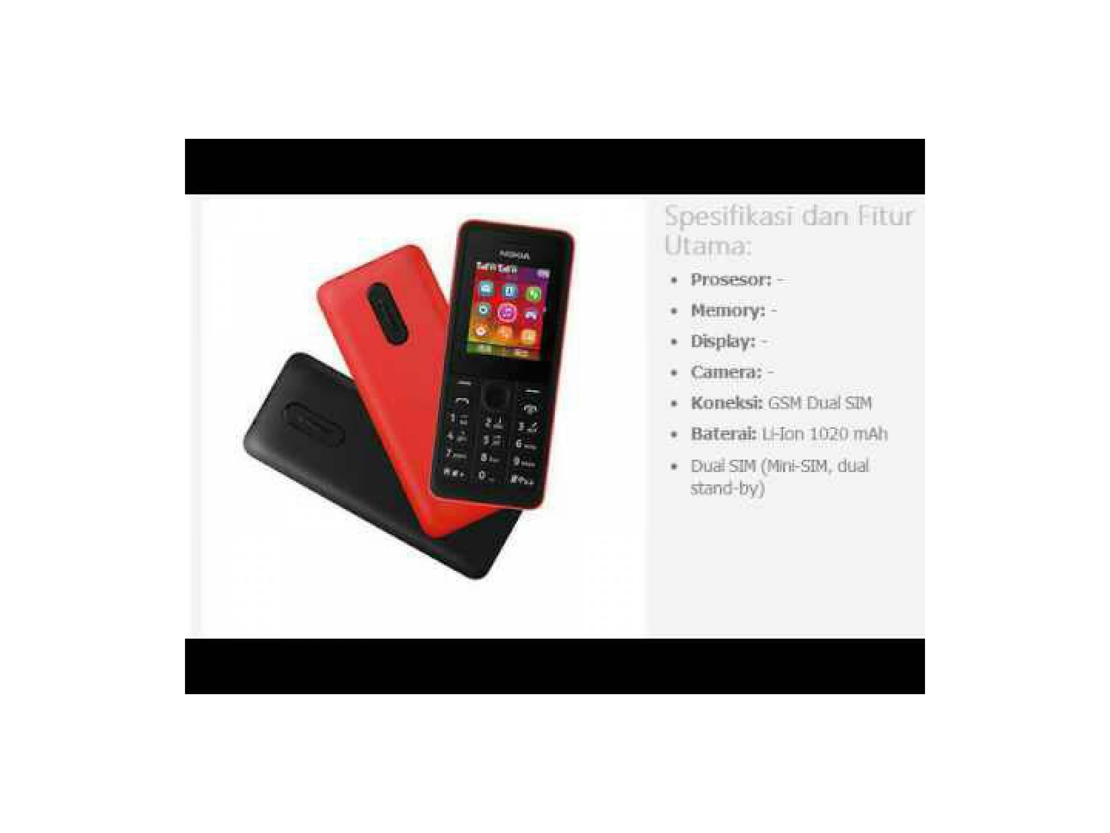 Harga Jual Nokia 2690 Jadul Classic Original Reffurbish Bukan 105 130 Resmi Tam Erajaya Ex Display Handphone 107 Dual Sim Gsm