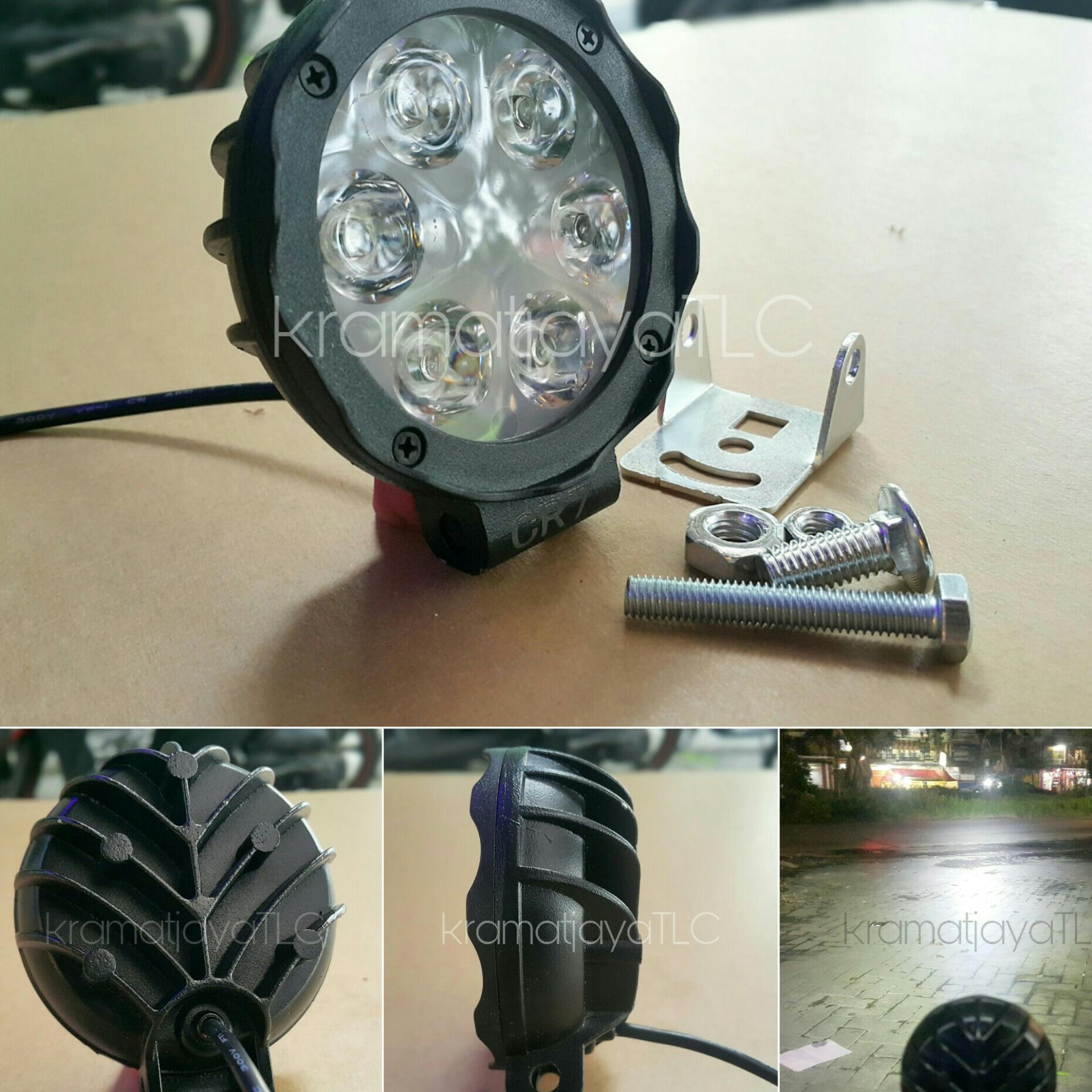 Daftar Harga Lampu Tembak Offroad Terbaru 2018 Led 27watt Bulat Koleksi November Paling Lengkap Sorot Cwl 6 Mata Mini