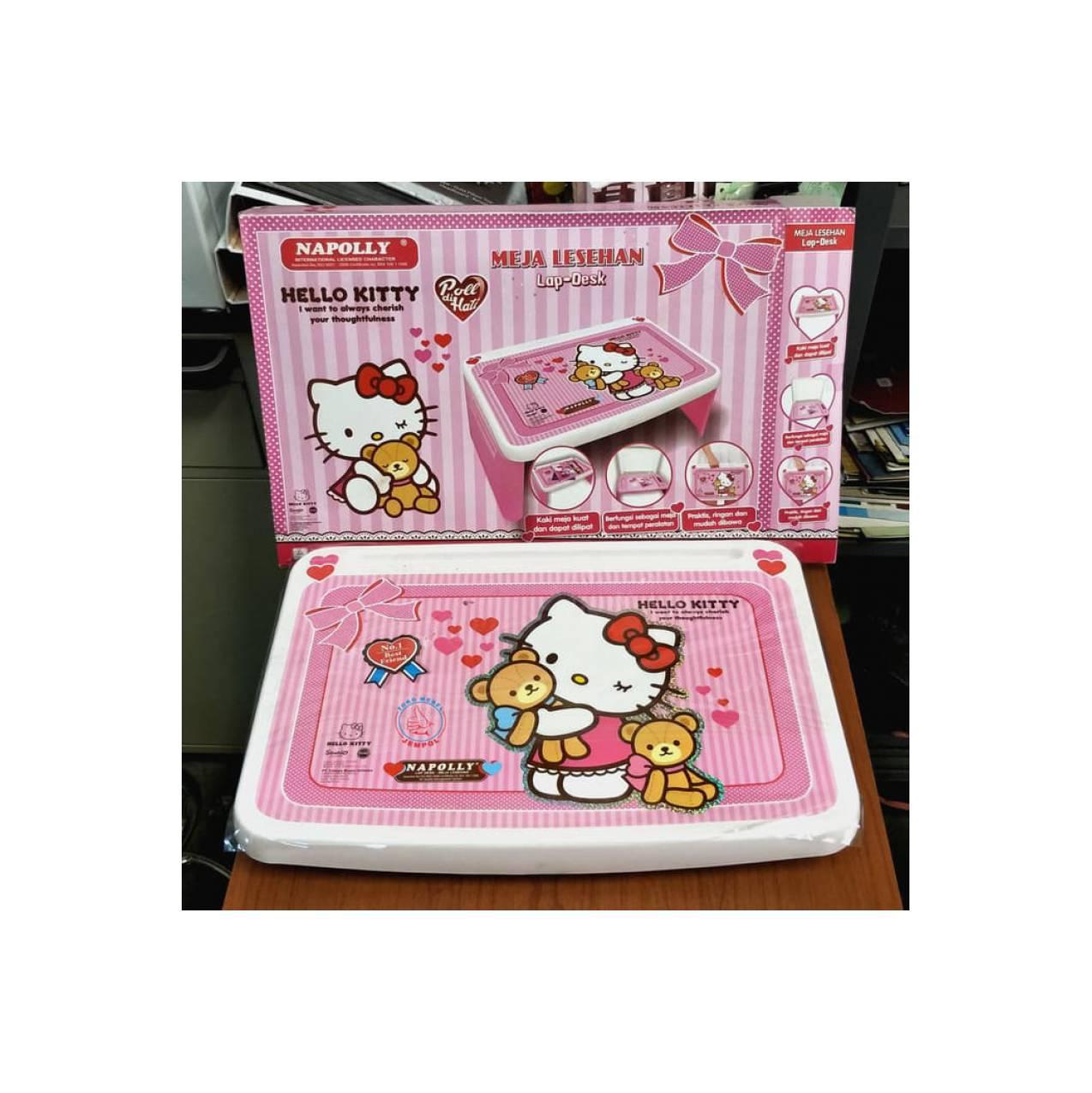 Napolly Meja Lipat Anak Princess Pink Daftar Harga Terkini Dan Lesehan Gambar Hello Kity Belajar Serbaguna