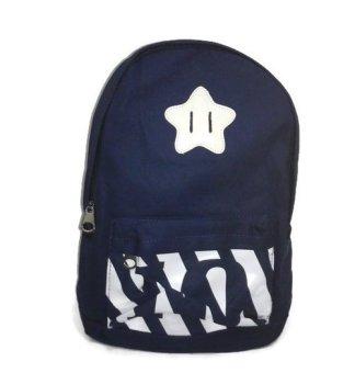 Pusat Ransel Tas Punggung Wanita Kanvas Woman Korea Import Backpack RS