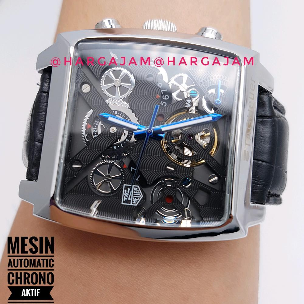 Tag Heuer Formula 1 Cr7 Special Edition Caz1113fc8189 Jam Tangan Swiss Navy Pria Hitam Merah Leather Strap Sn 8647 Automatic V4 By Hargajam Matic Cowok