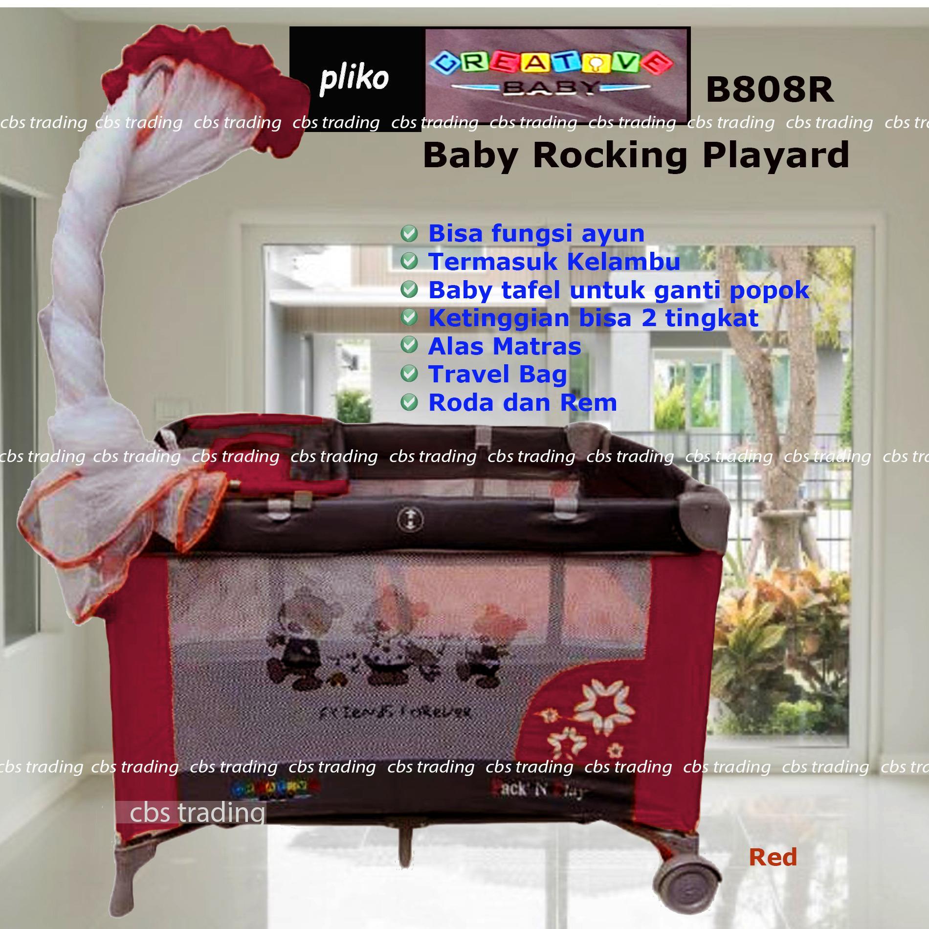 List Harga Ranjang Mini November 2018 Terlengkap Susun Mbb 09 Dengan Kasur Busa Pliko Creative Baby Rocking Playard 808 Box Bayi Merah