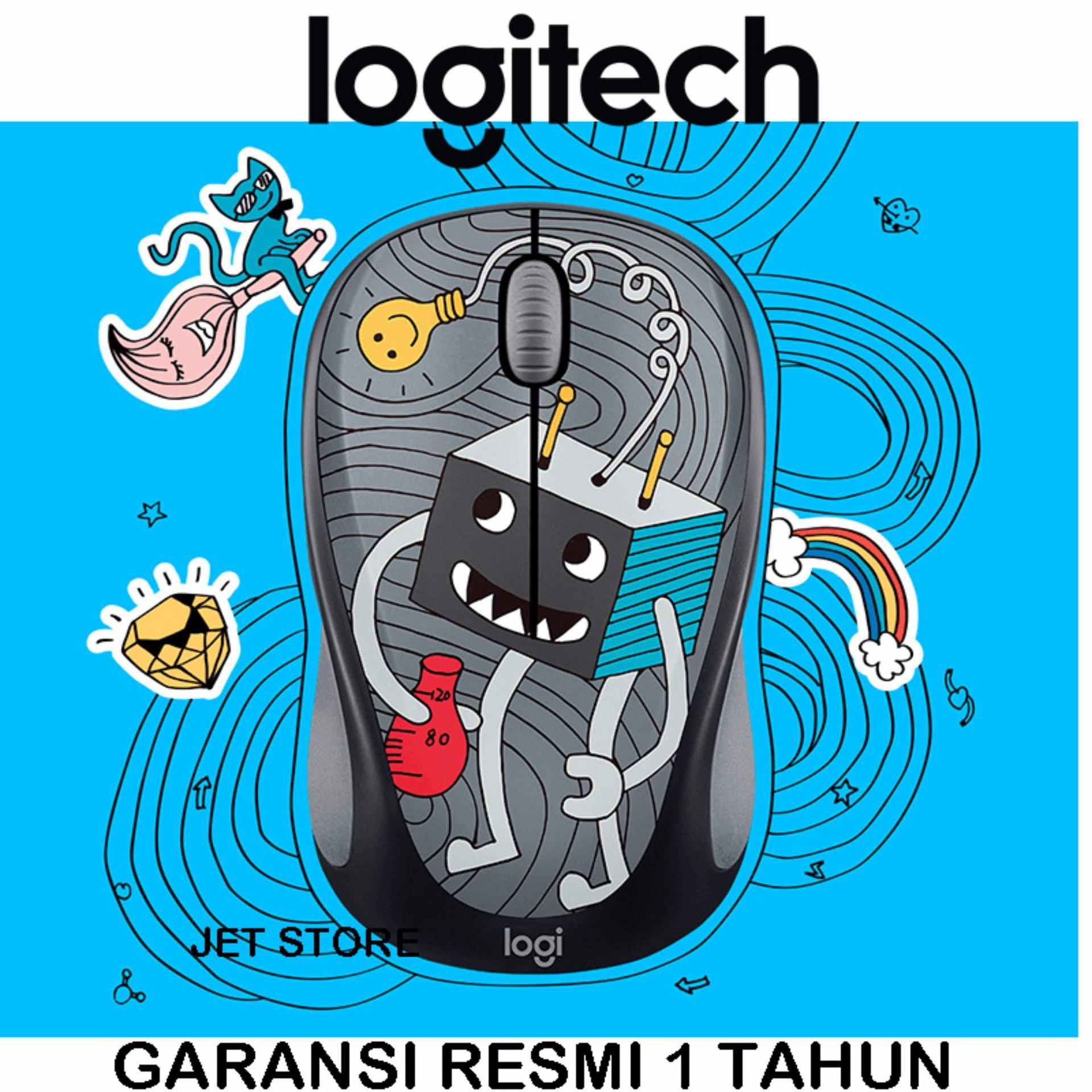 Daftar Harga Mouse Logitech Jogja November 2018 Paling Lengkap Garansi Resmi 2 Tahun Gaming G102 Prodigy Wireless Doodle Collection M238 Lightbulb