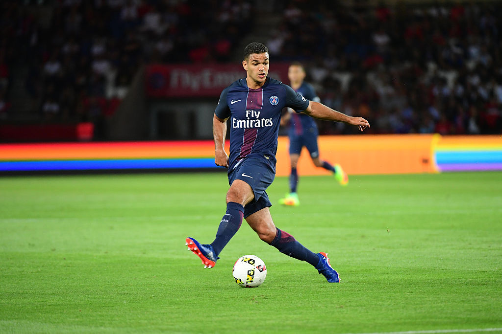 Hatem Ben Arfa of PSG during the French Ligue 1 match between Paris Saint Germain and AS Saint Etienne at Parc des Princes on September 9th, 2016 in Paris, France. (Photo by Dave Winter/Icon Sport) (Photo by Dave Winter/Icon Sport via Getty Images)
