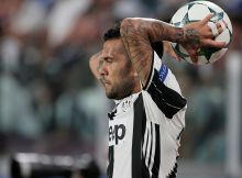 Dani Alves  during Champions League match between Juventus v Sevilla, in Turin, on September 14, 2016. (Photo by Loris Roselli/NurPhoto via Getty Images)