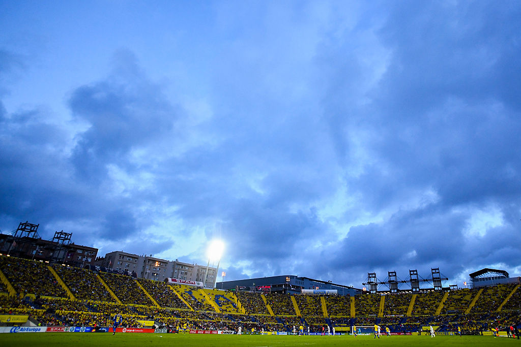 LAS PALMAS, SPAIN - SEPTEMBER 24:  a gneral view of the stadium during the La Liga match between UD Las Palmas and Real Madrid CF on September 24, 2016 in Las Palmas, Spain.  (Photo by David Ramos/Getty Images)