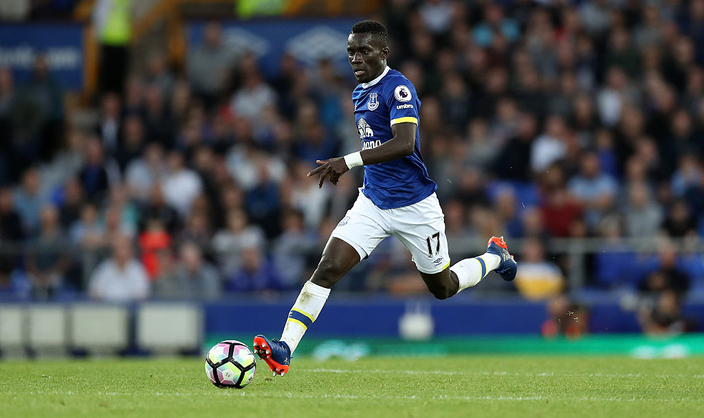 LIVERPOOL, ENGLAND - SEPTEMBER 17: Idrissa Gueye of Everton during the Premier League match between Everton and Middlesbrough at Goodison Park on September 17, 2016 in Liverpool, England. (Photo by Lynne Cameron/Getty Images)