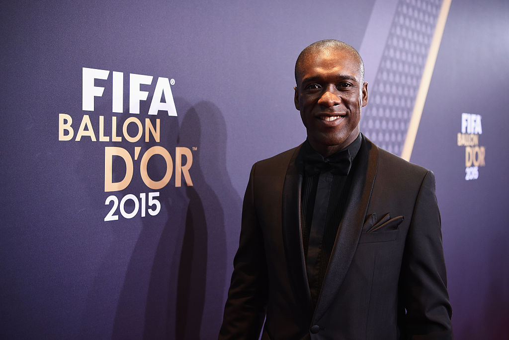 ZURICH, SWITZERLAND - JANUARY 11:  Clarence Seedorf of the Netherlands arrives for the FIFA Ballon d'Or Gala 2015 at the Kongresshaus on January 11, 2016 in Zurich, Switzerland.  (Photo by Stuart Franklin - FIFA/FIFA via Getty Images)