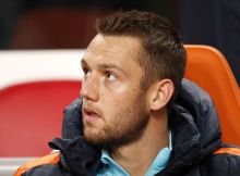 Stefan de Vrij of Hollandduring the FIFA World Cup 2018 qualifying match between Netherlands and France at the Amsterdam Arena on October 10, 2016 in Amsterdam, The Netherlands(Photo by VI Images via Getty Images)