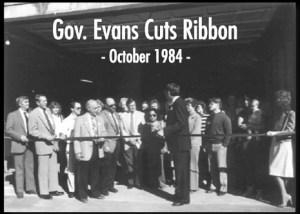 Governor Evans Idaho Foodbank 1984