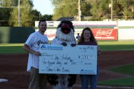 Albertsons Chukars donation