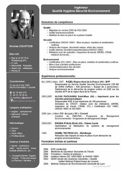 cv type coordinateur de projet pdf