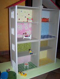 Dcoration de la maison playmobil en bois - La dco de la ...