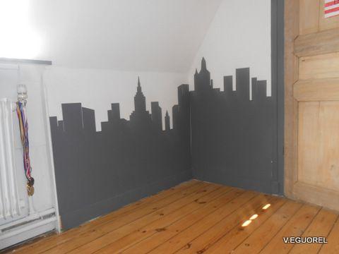 Chambre Theme New York Chambre New York Best Decor Deco De Chambre
