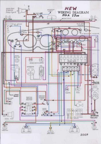 mga wiring harness mgha wiring diagram mgha auto wiring diagram