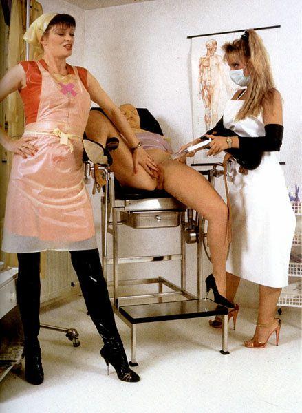 kinky enema nurse