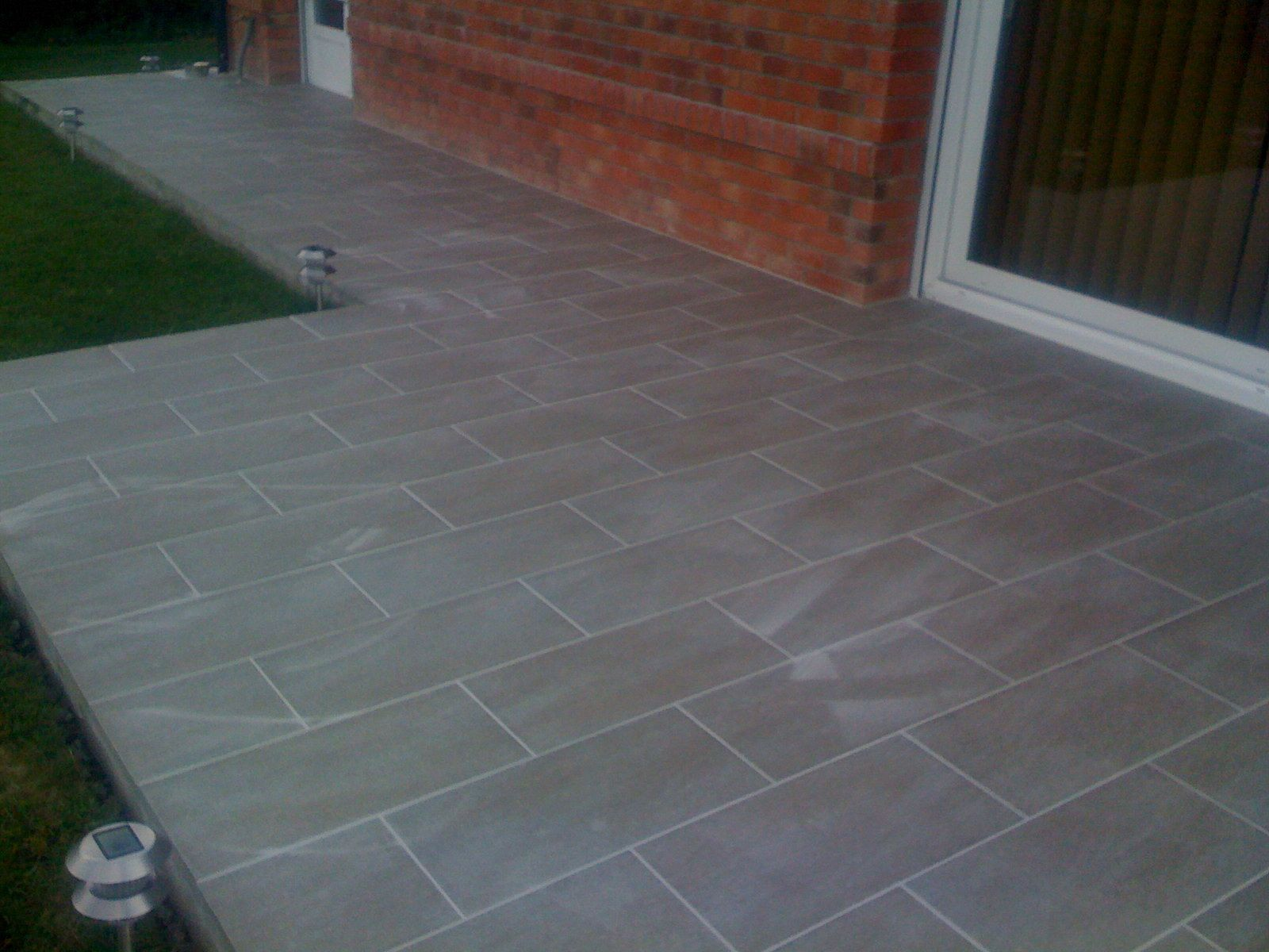 Poser Du Carrelage Exterieur Terrasse Carrelage Rectangle