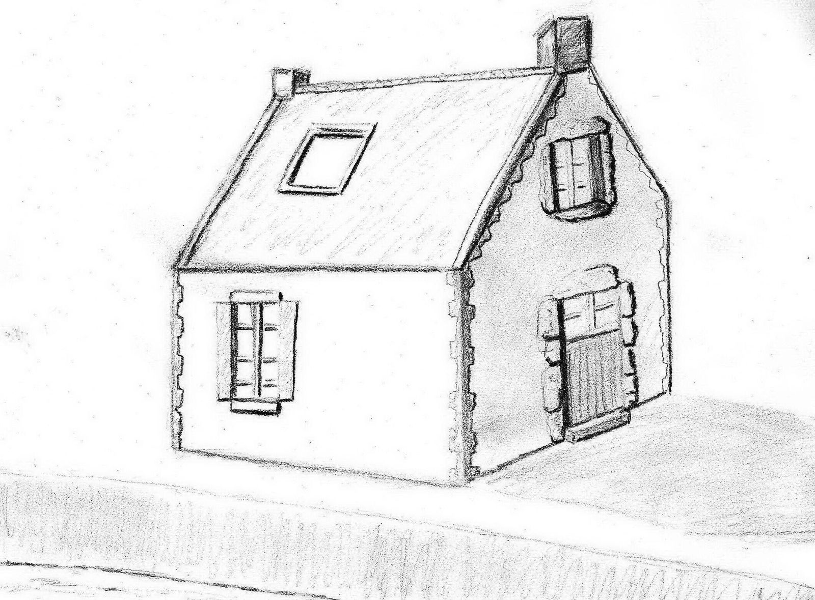 Comment Dessiner Sa Maison Comment Dessiner Sa Maison Affordable How To Draw A House