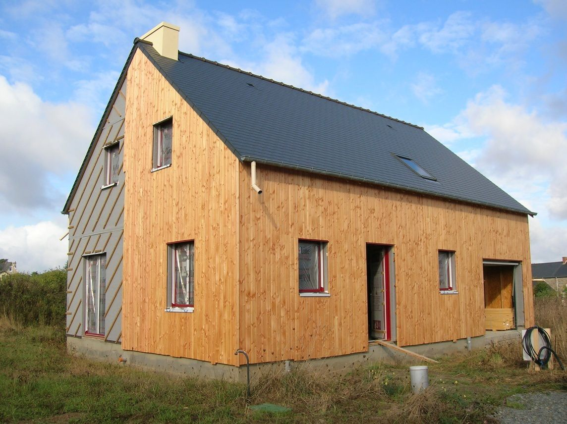 Bardage Horizontal Bardage Vertical Construction Maison Ossature Bois