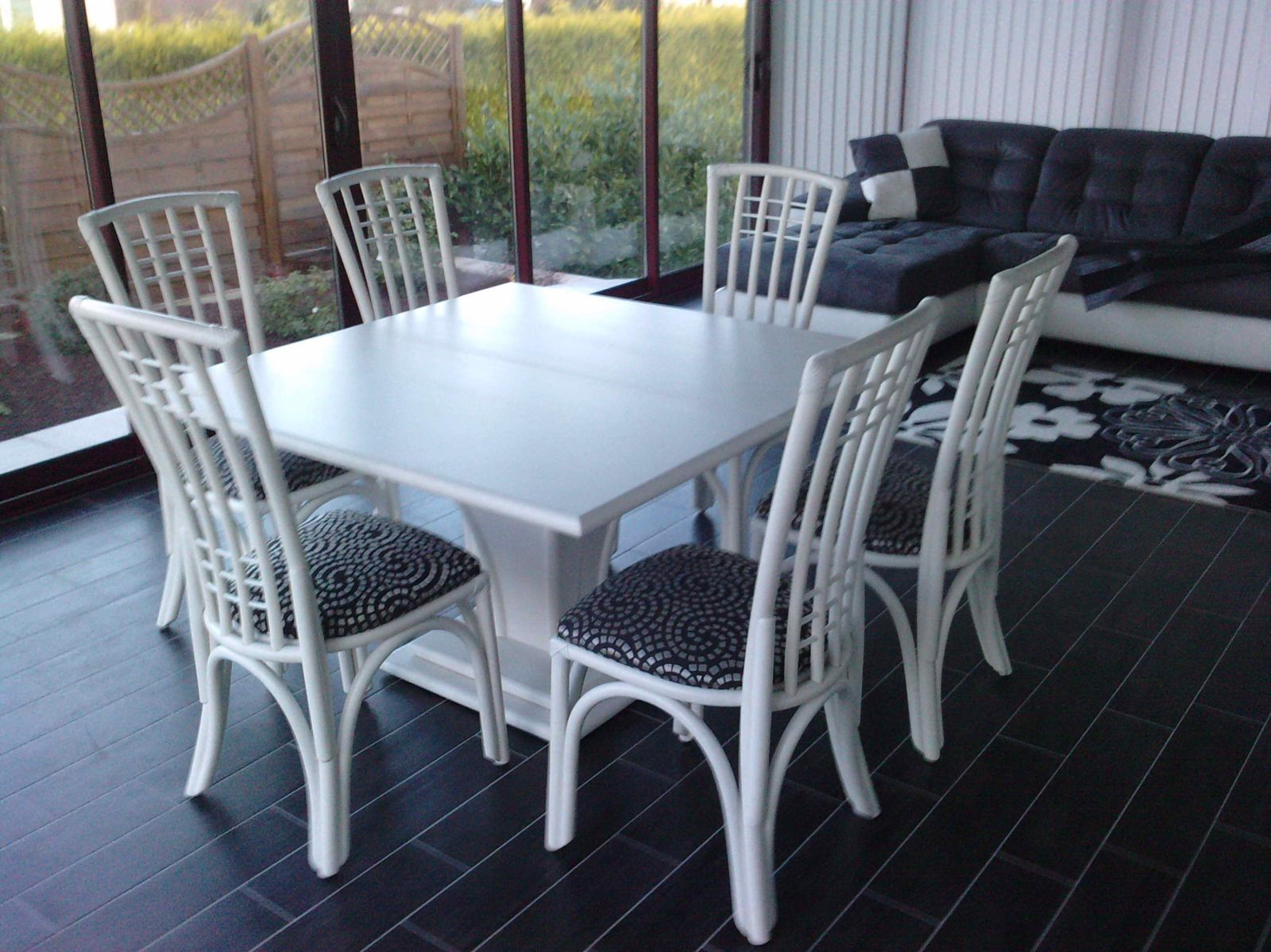 Ensemble Table Et Chaise En Rotin Album Meubles De Veranda Exodia Home Design Tables