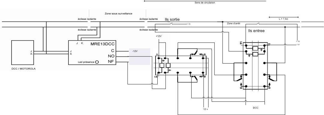 dcc schema cablage