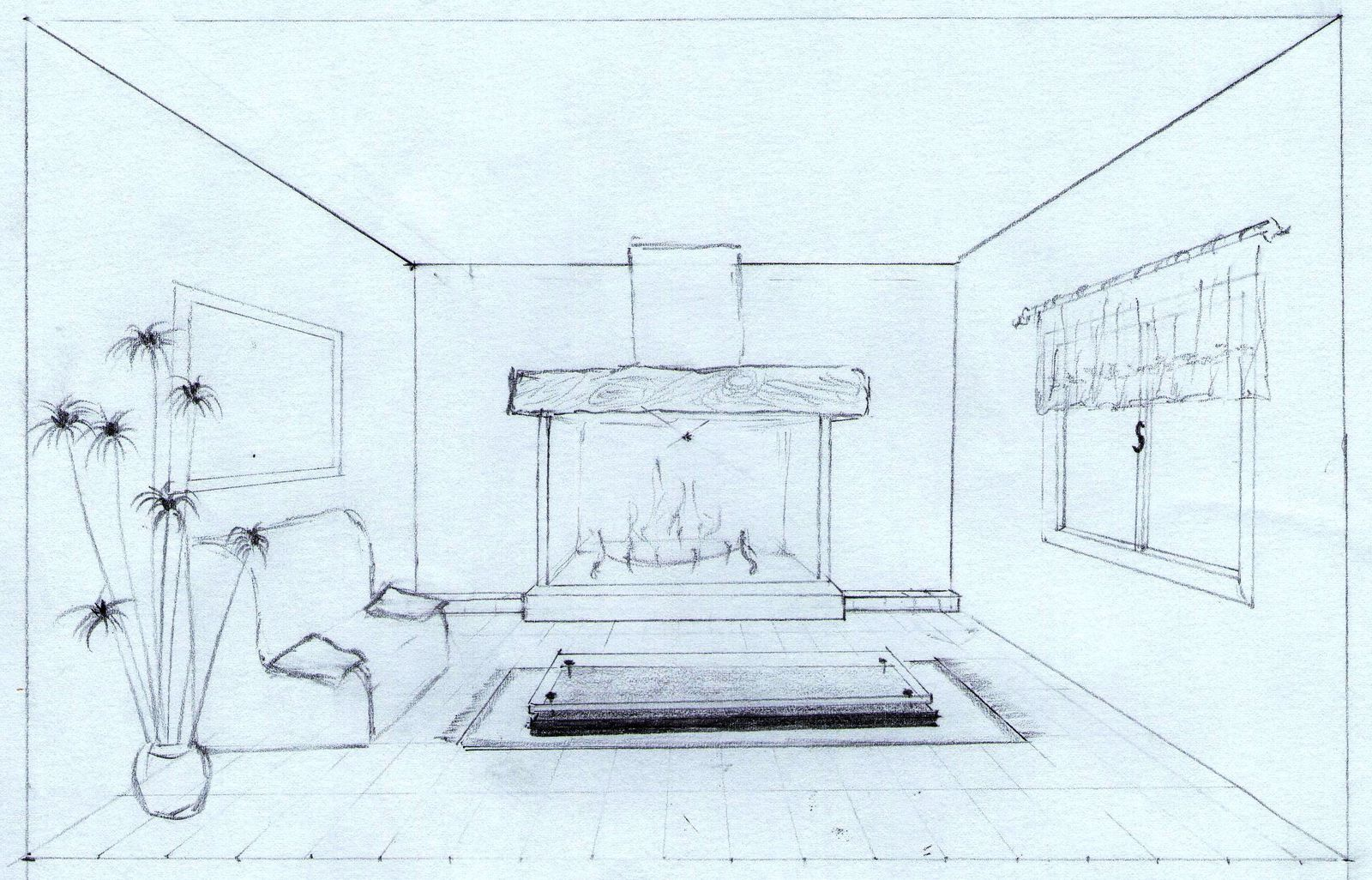 Croquis Maison Simple Perspective Construction D Une Maison Ailinn