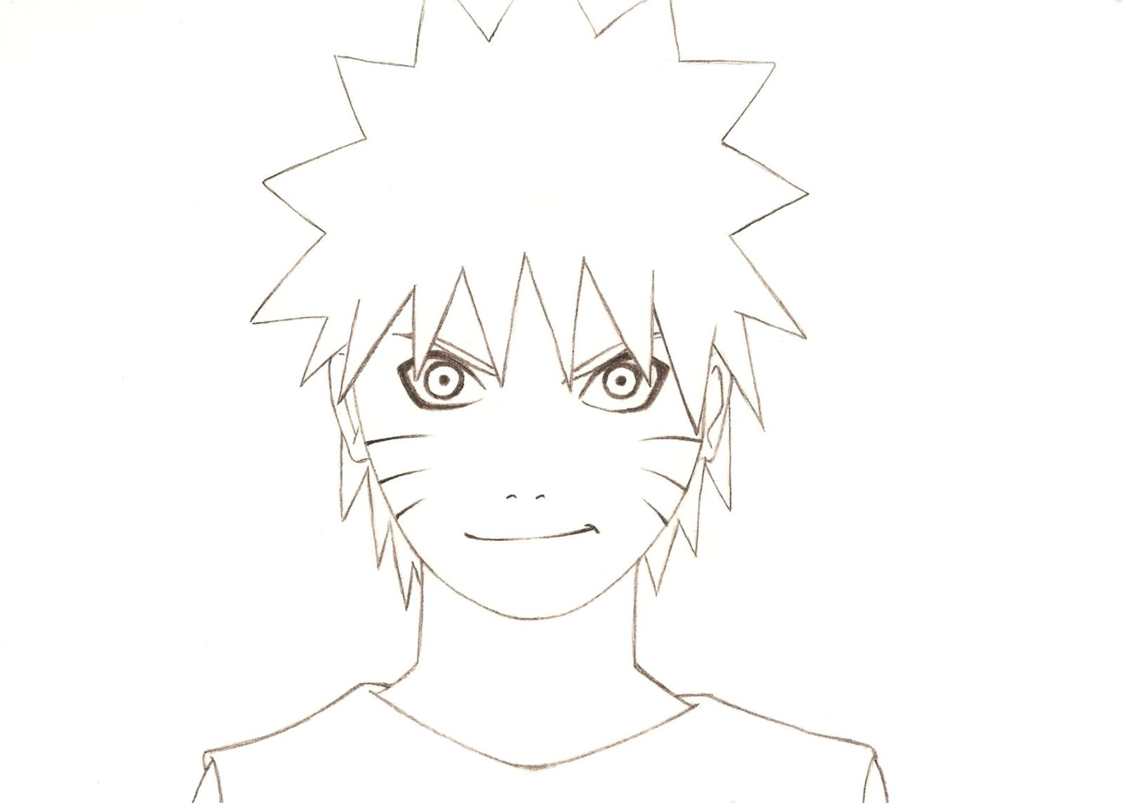 Dessin Simple A Realiser Dessin Simple Naruto