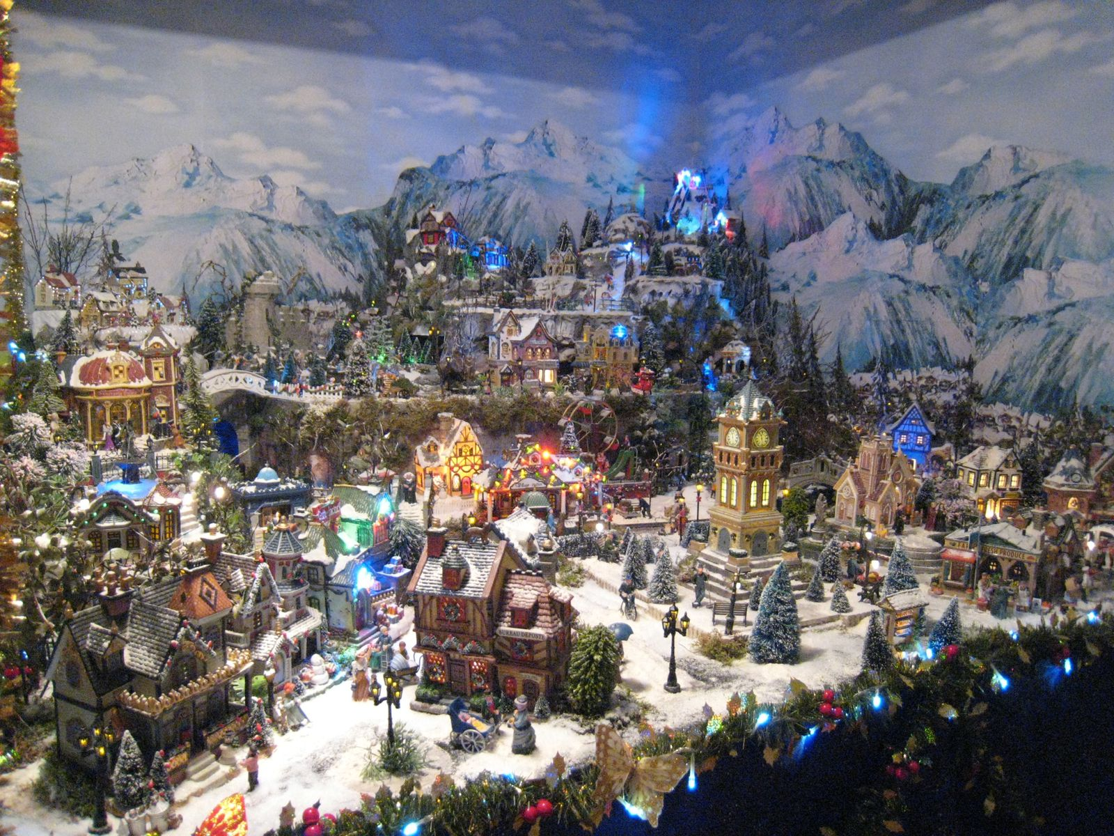 Village De Noel Decoration Decoration De Noel Village Miniature