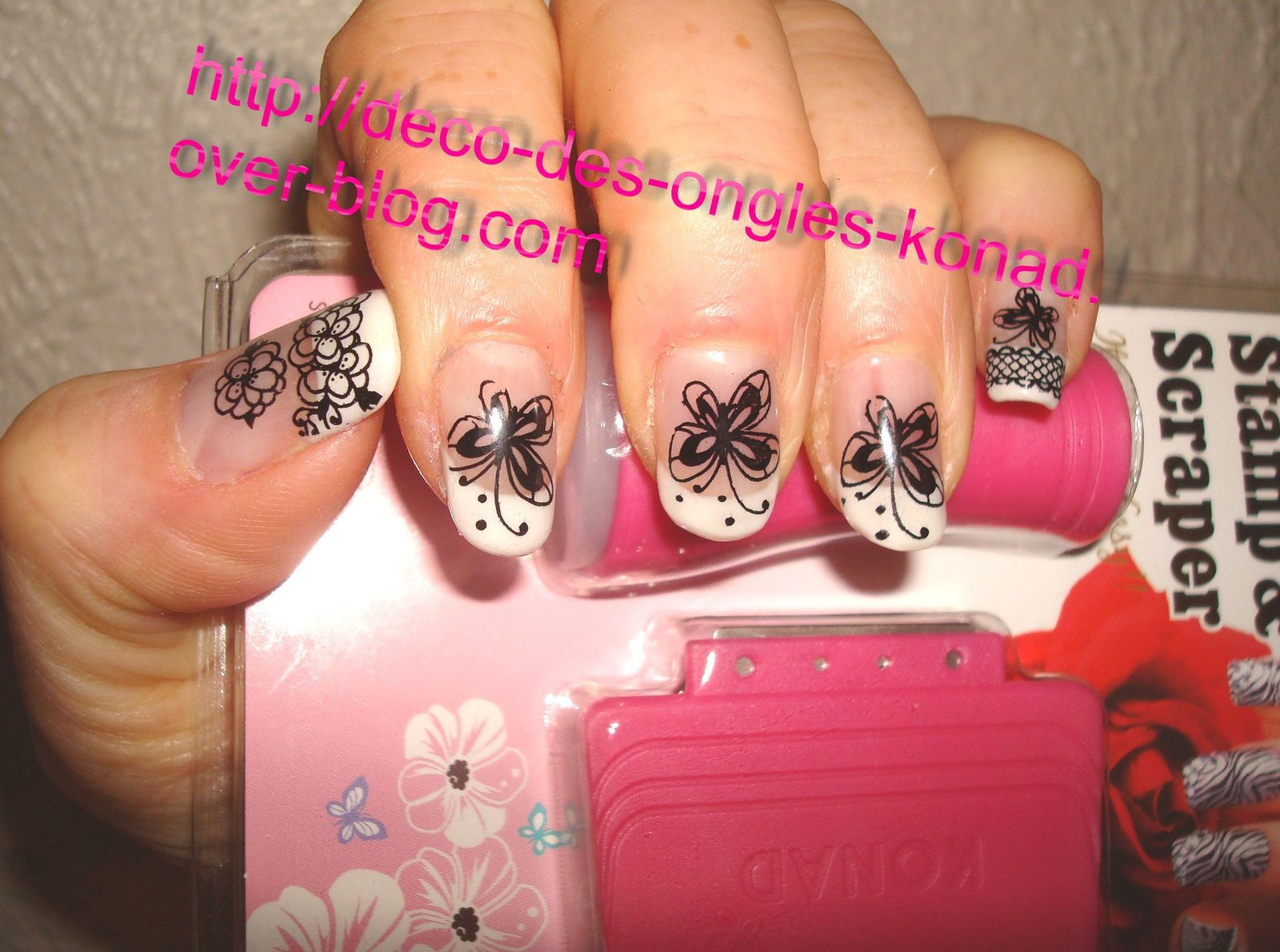 Decoration Ongle Nail Art Idées Pour Décorer Vos Ongles Nail Art Stamping Konad Onglissimo