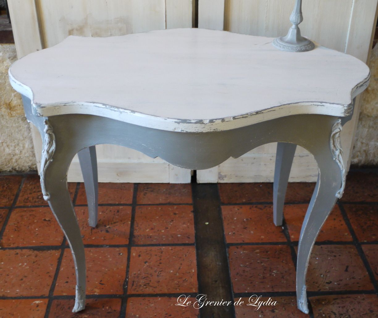 Meuble Gustavien Petite Table Louis Xv Patinée Style Gustavien Relooking
